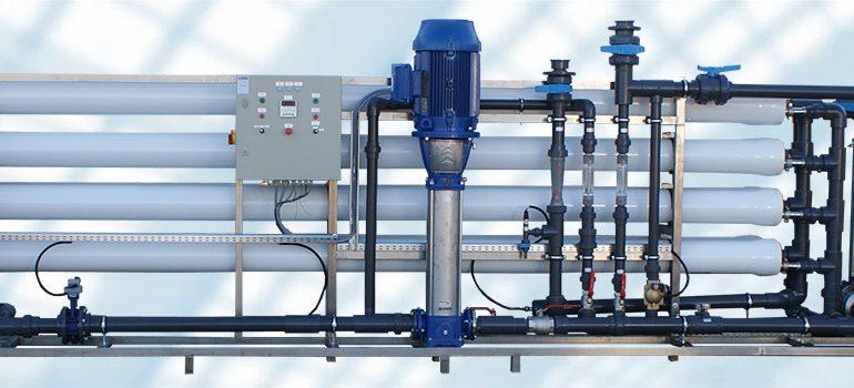 ipari vízlágyító berendezés